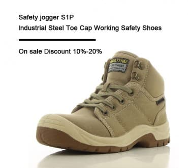 Safety jogger S1P Industrial Steel Toe Cap Working Safety Shoes