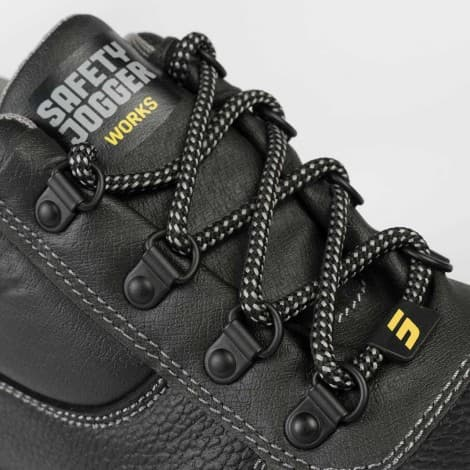 Safety Jogger LABOR S3 Wide Steel Toe Cap Safety Shoes comfortable all-round safety boot