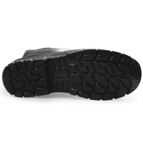 High top, anti-smash, anti-puncture, electric insulation, oil resistance cow leather Safety Boots
