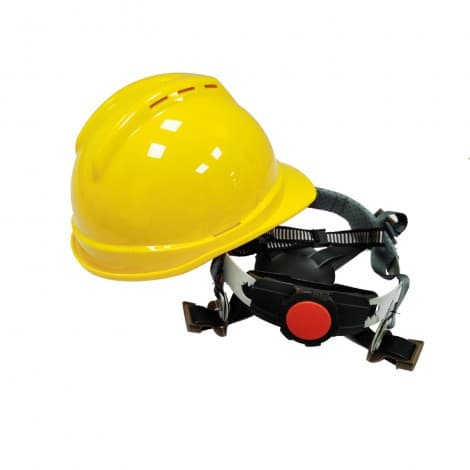 ABS 4-point Fas-Trac III Suspension V-Gard Slotted Hard Hat