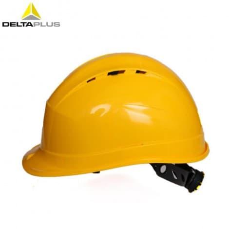 DELTAPLUS/Delta 102009 QUARTZ IV PP helmet with chin strap hard hat