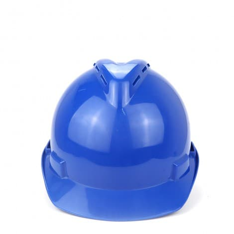 Woshine V-Gard Slotted Hard Hat, with 4-point Fas-Trac III Suspension