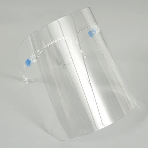 full protective clean glass visor  Safety Face Shield