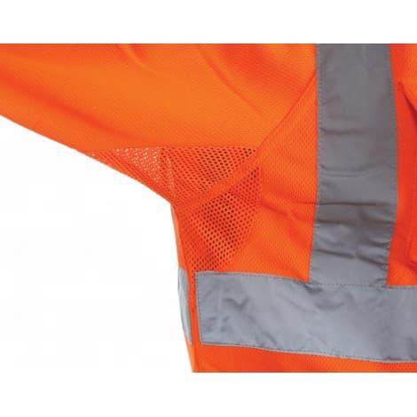 Bodyguard workwear GN650 Fluorescent Orange Short Sleeve Polo Shirt