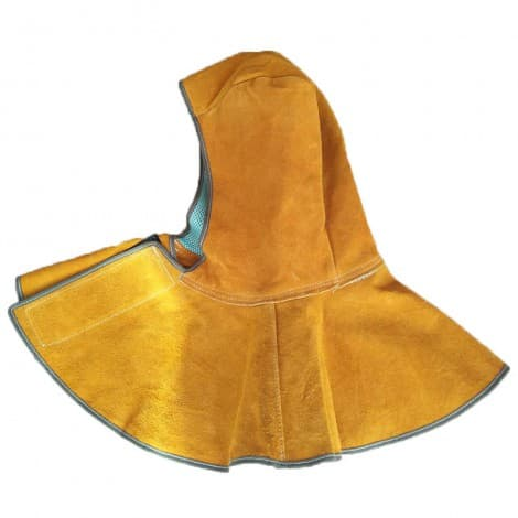 Flame Retardant Split Leather Welding Hood Welding Cap