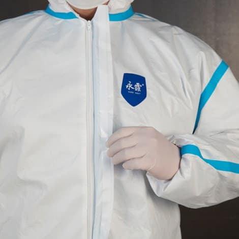 Anti-virus Sterile Medical Clothing Disposable Protective Coverall