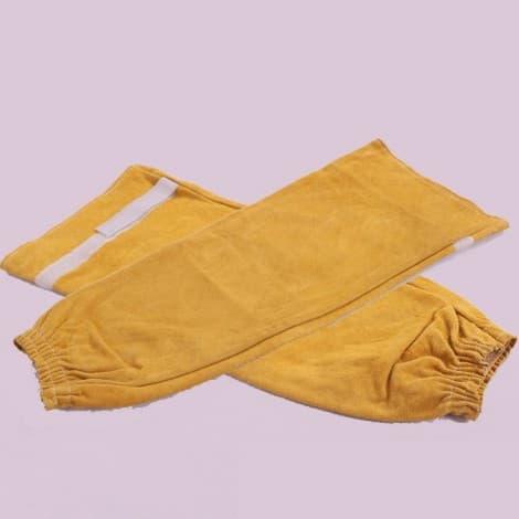 Comfortable Heat Resistant Welding Leather Sleeve