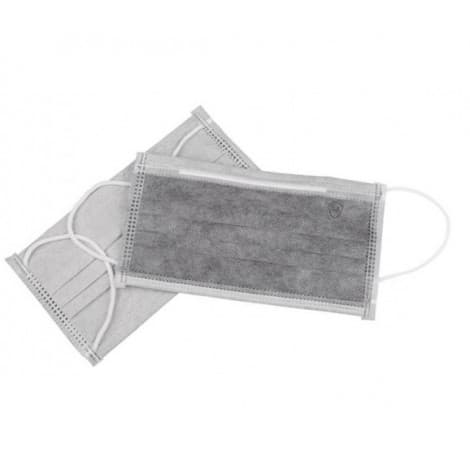 Novel Coronavirus Protection active carbon Disposable Face Mask (4-Ply) with Earloop