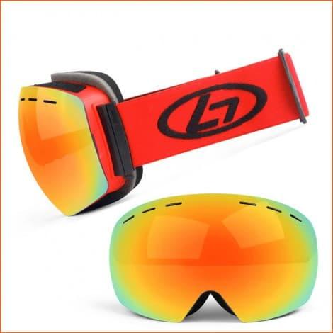 over the glasses Ski Goggles Skiing Sports Custom Snow Googles snow glasses