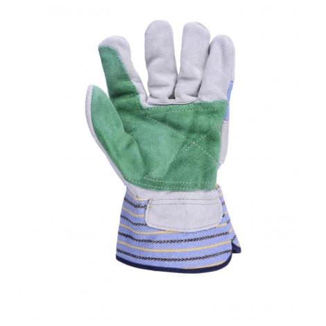 Weldas patched palm working gloves