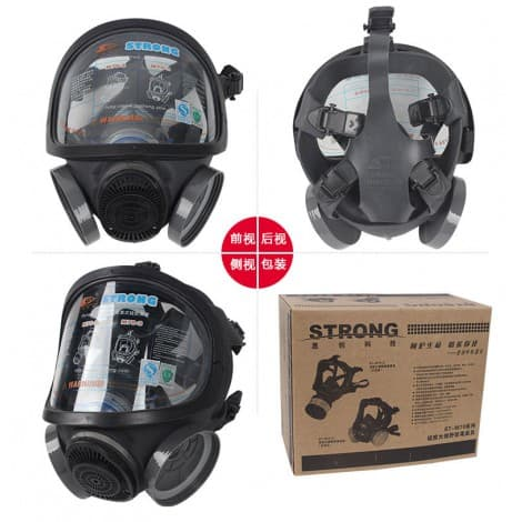 ST-M70-3 full mask (silicone,large eye socket)Dust, Paint, Pesticide, Fire Fighting Gas, Chemical Ammonia