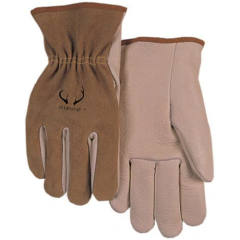 Weldas Oil-Resistant Sheep Driver Gloves Cow Leather Driver Work Gloves Pig Skin Working Gloves Deer Skin Gloves