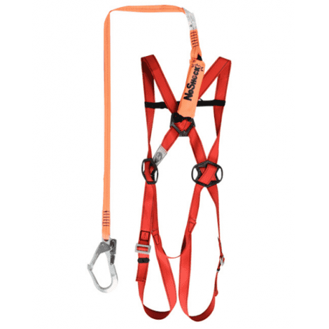 FALL HARNESS WITH SINGLE BUCKLE 506101