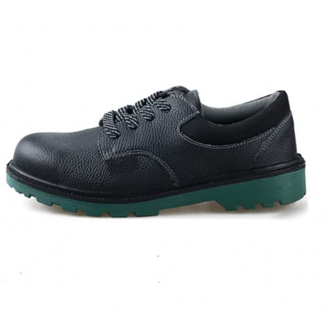 Leather steel toe cap safety shoes 0919701