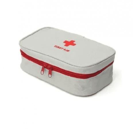 Portable Medicine Bag Organizer Travel Medicine Zipper Bags Large First Aid Bags