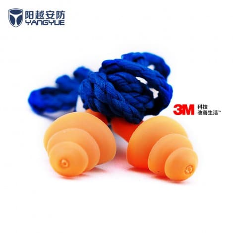 3M1270 Multi-Flange Reusable earplugs
