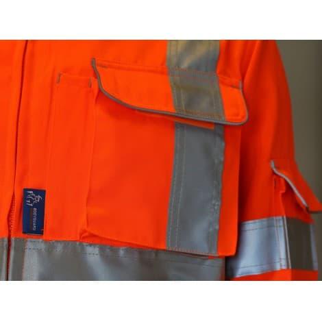 Bodyguard workwear Jacket w/ Twin needle stitching, Cargo & phone pockets