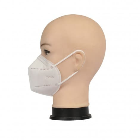 5 Layer KN95 FFP2 Face Mask Non Woven Fabric Dust Respirator Filter Face Mask