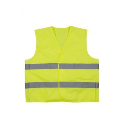 GILP2 POLYESTER HIGH VISIBILITY VEST - PARALLEL STRIPES