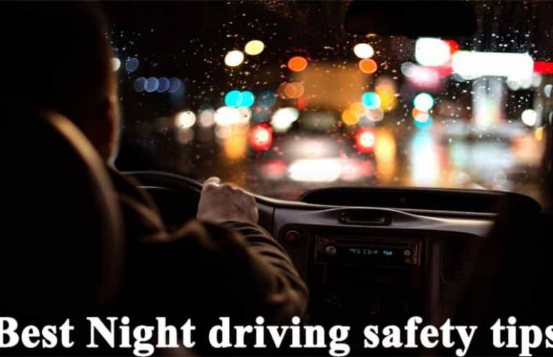 Driving at night can be dangerous