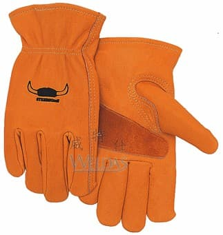Weldas Oil-Resistant Sheep Driver Gloves Cow Leather Driver Work Gloves Pig Skin Working Gloves Deer Skin Gloves
