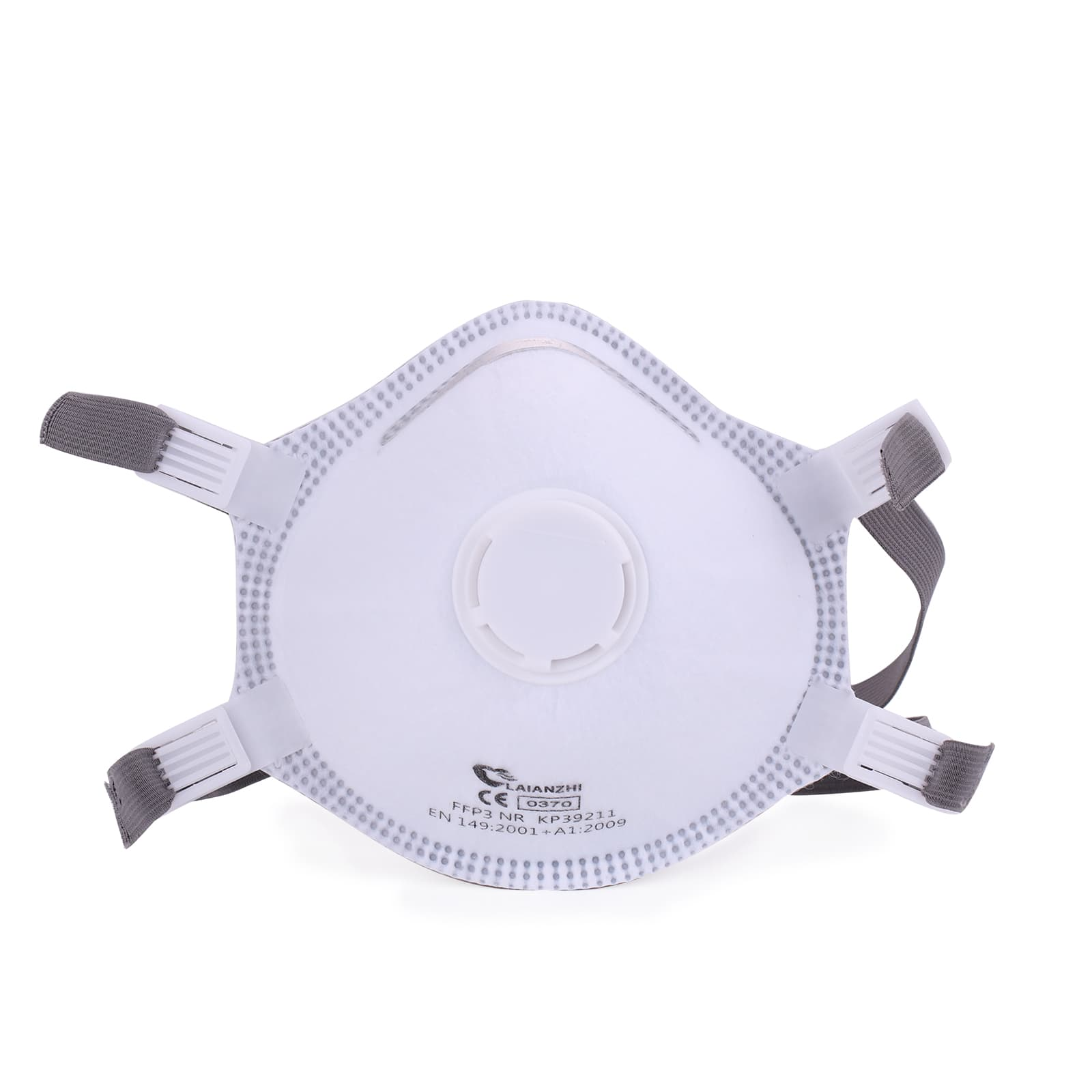 FFP3 kP39211 headband cup shape with valve disposable protective face mask