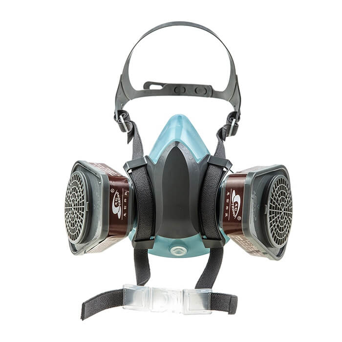 ST-M40-3B half gas mask (silicone,two cartridges)